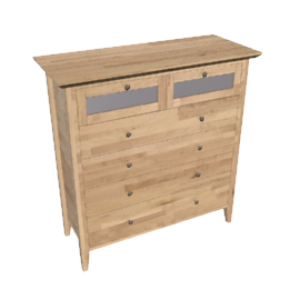 Accent 4 and 2 Drawer Chest