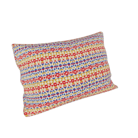 Maharam Pillow in Arabesque 11'' x 21'', Crimson.Ochre