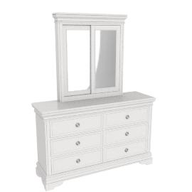 Grandview Dresser W/Mirr/n, White