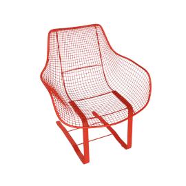 Sculptura Spring Occasional Chair, Orange