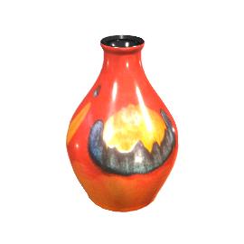 Poole Pottery Volcano Bud Vase, 12.5cm