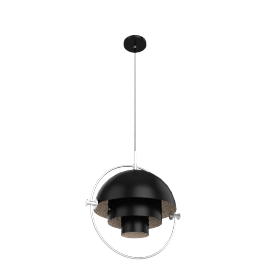 Multi-Lite, Black/Chrome