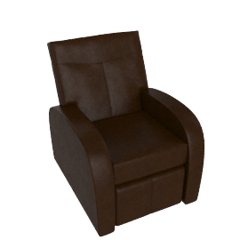 East River Reclining Leather Chair