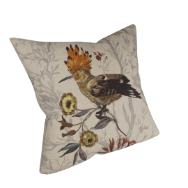 Hoopoe Bird Cushion