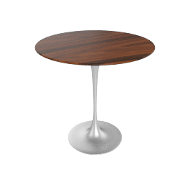 Saarinen Side Table - Rosewood - Plt.Rosewood