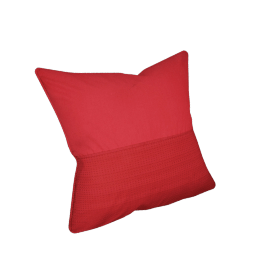 Eternity Cushion Cover - 65x65 cms, Red