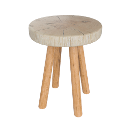 Bowmore Small Log Side Table
