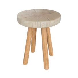 Bowmore Small Log Side Table