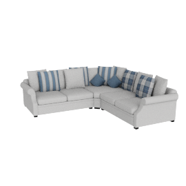 Zeba Sectional Corner Sofa