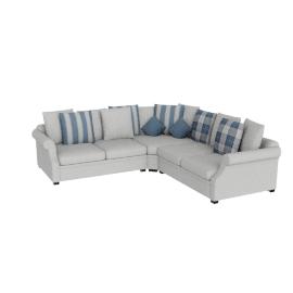 Zeba Sectional Corner Sofa
