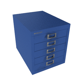 Bisley Non-Locking 5 Multidrawer