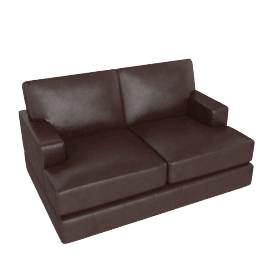 Hector Small Leather Sofa