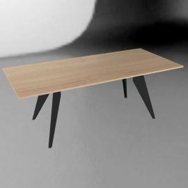 Prouvé EM Table - Natural