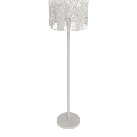 Devon Floor Lamp, Taupe, Large
