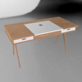 Stroller Desk, White