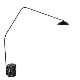 Sten Floor Lamp, Nero Marquina