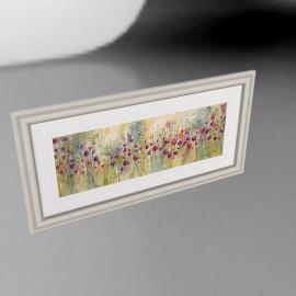 Catherine Stephenson - Spring Floral Panel Framed Print, 60 x 120cm