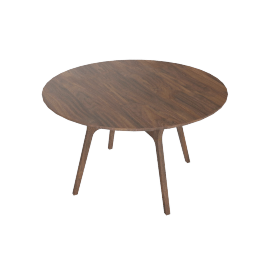Ren Dining Table, Walnut