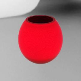 Circa Vase, Red