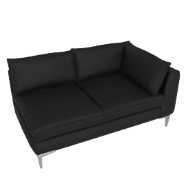 Albert One Arm Sofa Left - Sierra