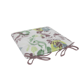 Gardenin Printed Chair Pad Cushion