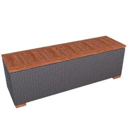 Ollie Storage Bench - Pearl.Grey