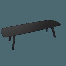 Solapa Slim Low Table, Black