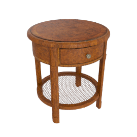 Hemingway Round Lamp Table