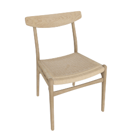 CH23 Side Chair, Oiled Oak
