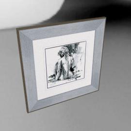 Joanne Boon Thomas- Figurative Study II Framed Print, 47 x 47cm
