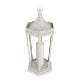 Classic Lantern, Cream, Large