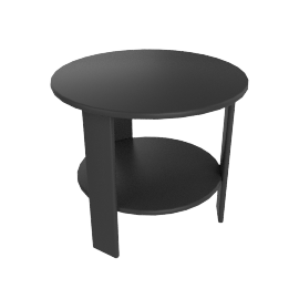 Lollygagger Side Table, Slate