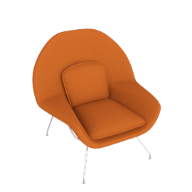 Womb™ Chair - Cato - Orange