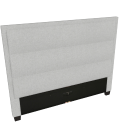 Stellar Ace Queen Headboard, Grey