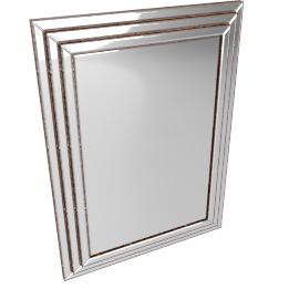 Chambery Mirror, Bronze, 117 x 87cm