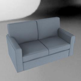 Scoop Sofa Bed, Sky Blue