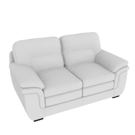 Taylor 2 Seater Full Leather Cream