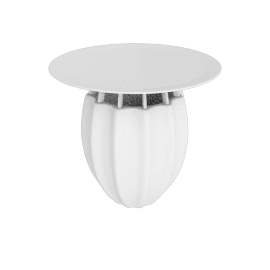 Oppiacei Table, White