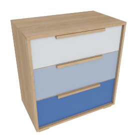 Benni Chest of 3 drawers