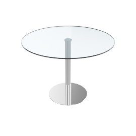 Enzo 4 Seater Round Dining Table