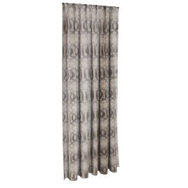 Classic Curtain Pair - 135x240 cms, Grey