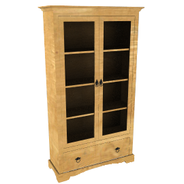Dordogne Display Cabinet
