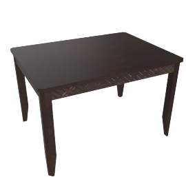 Brick 4-Seater Dining Table