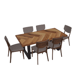 Atlas 7-Piece Dining Set