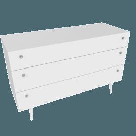 Calypso 3-Drawer Dresser