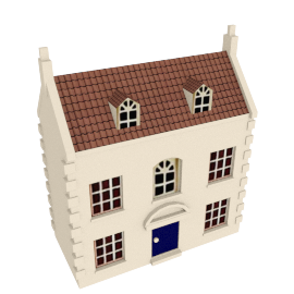 "Pintoy Marlborough Doll""s House"