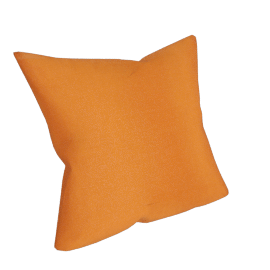 Silk Cushion, Orange