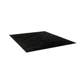 Thin Strip Cowhide Rug, 10'x12'