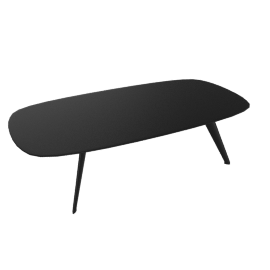 Solapa Coffee Low Table, Black
