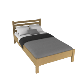 Samba Bedstead, Small Double